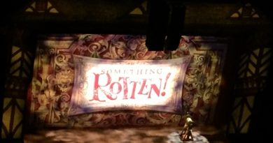 Where is Something Rotten touring